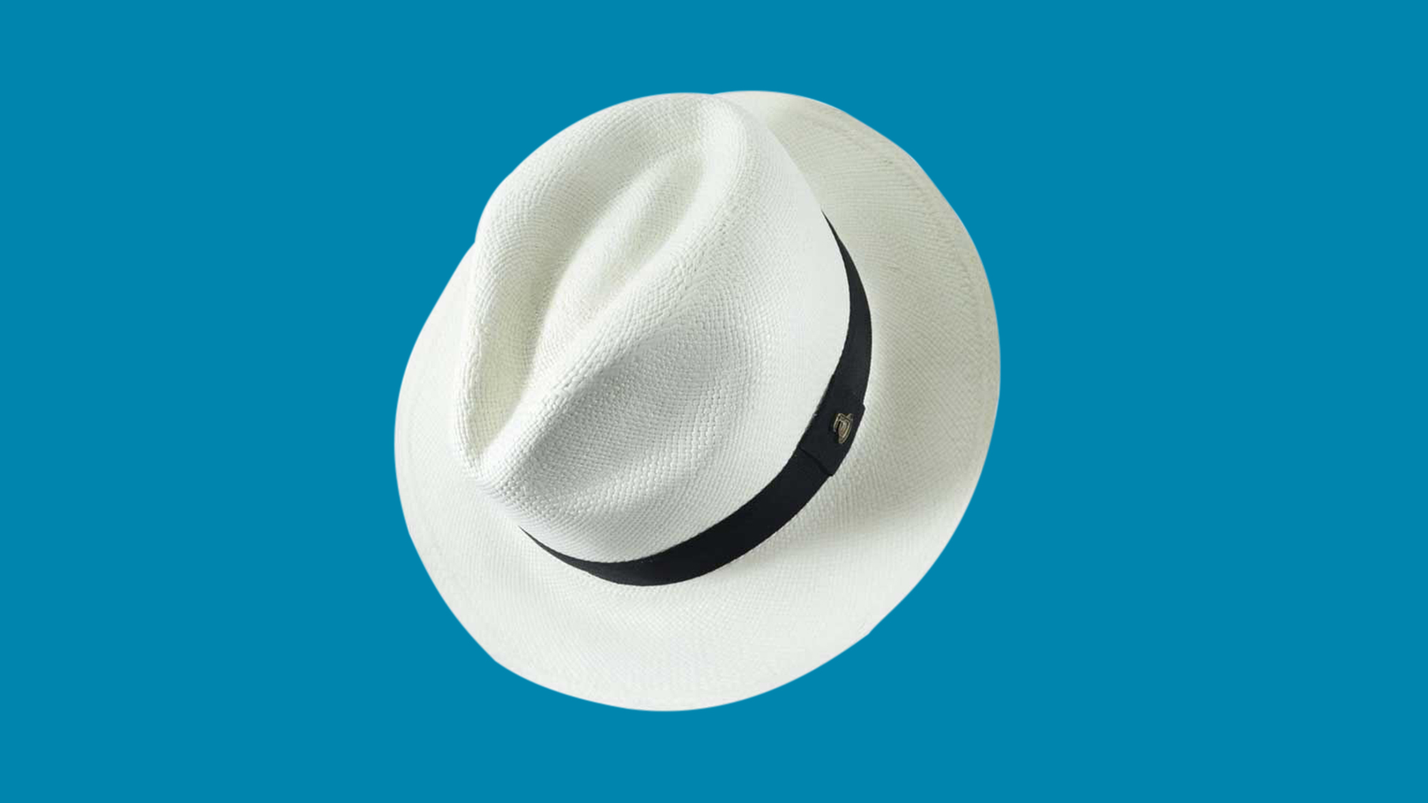 White Panama hat from Aqua Andino at Another_Story