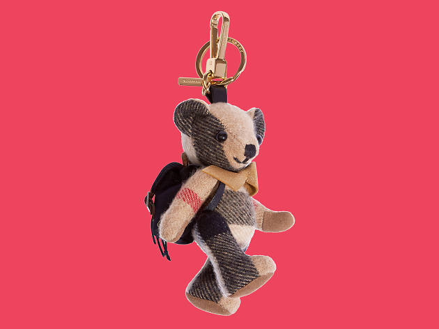 Bear keyring from Burberry