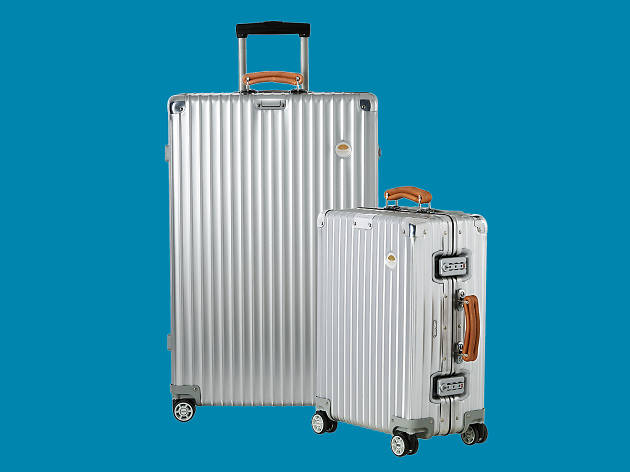 Limited-edition Mandarin Oriental Bangkok luggage from Rimowa