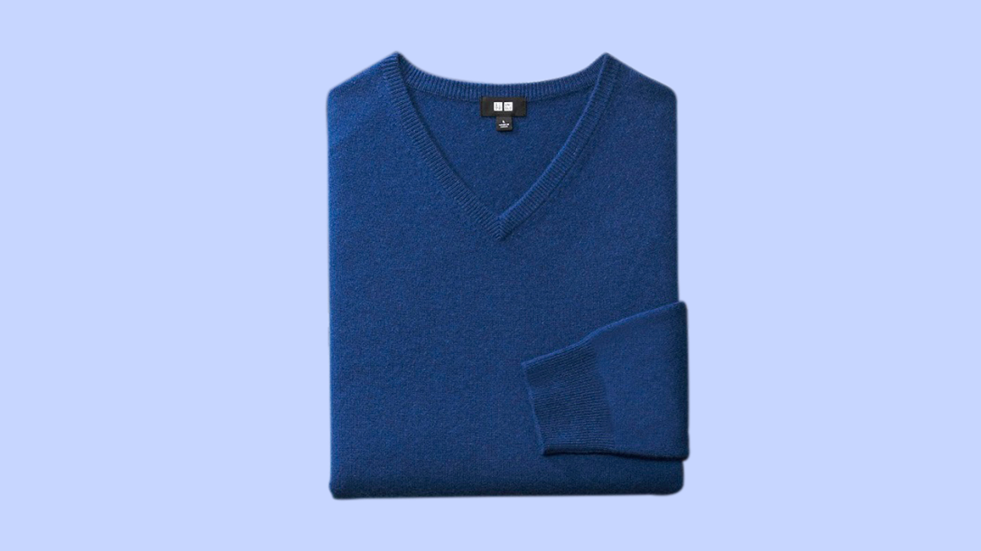 Cashmere sweater from Uniqlo