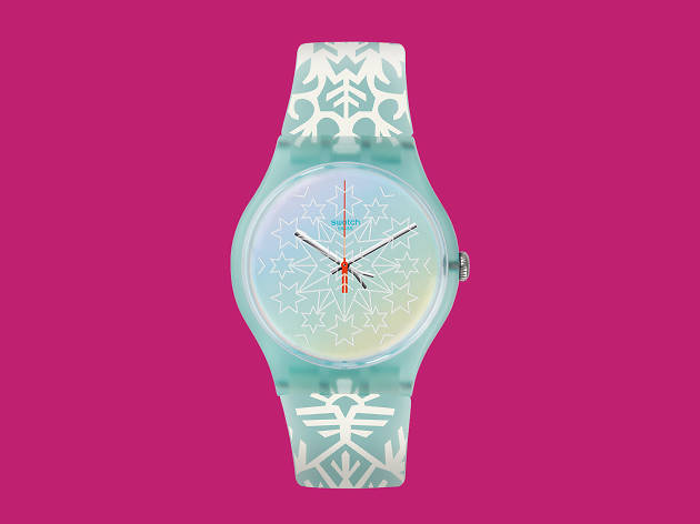 Christmas Collection watch from Swatch