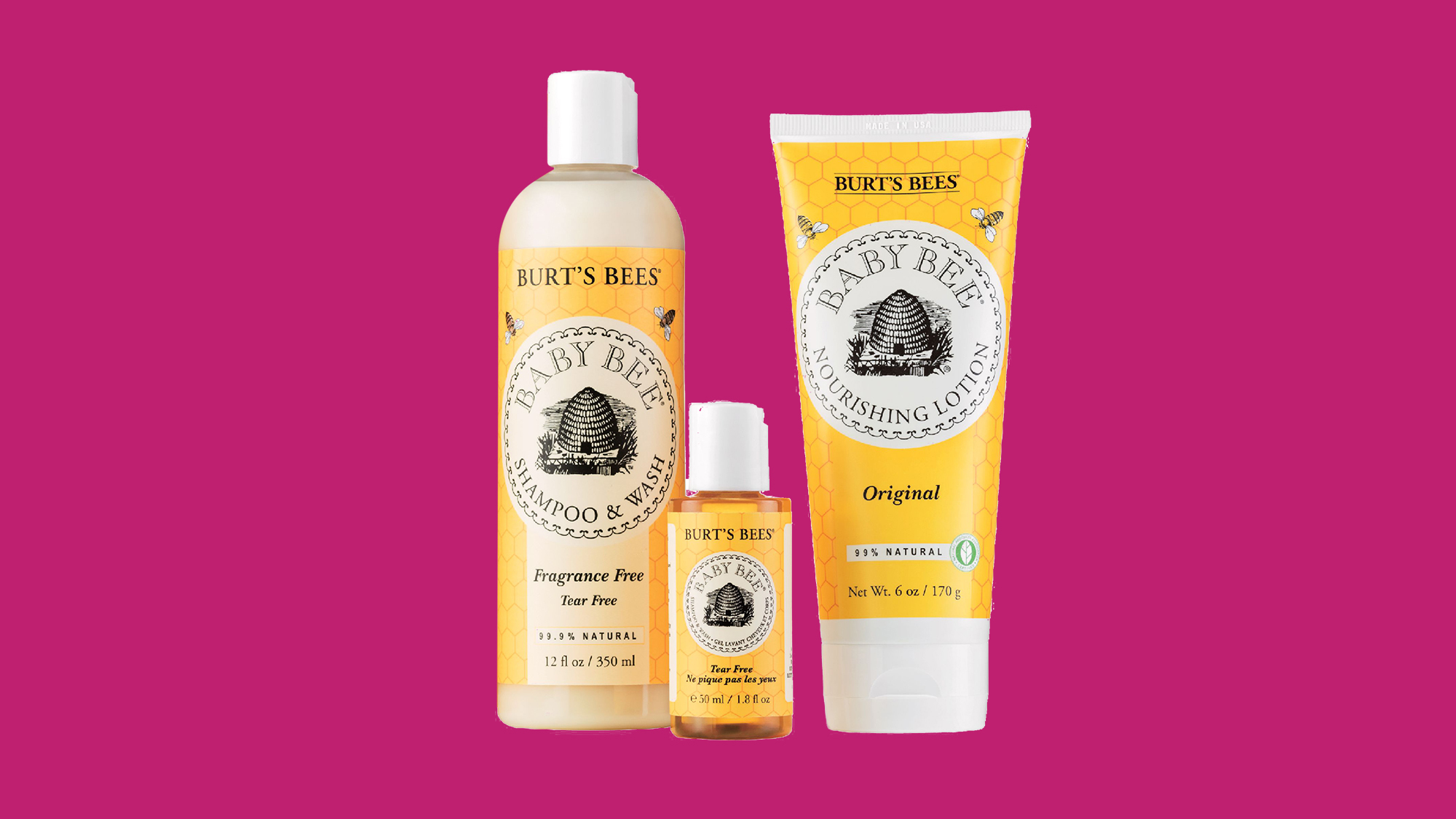 Pamper Your Body gift set from Burt's Bee