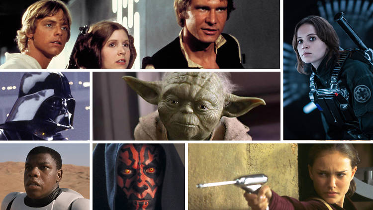 The Best Star Wars Characters Including Han Solo, Yoda and Darth Vader