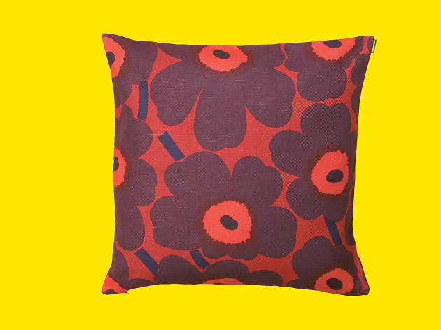 Unikko cushion cover Christmas color from Marimekko
