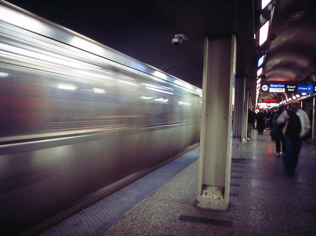 cta train subway