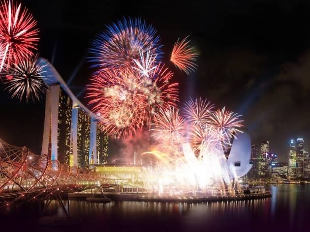 Sky High Social The Ultimate New Year's Eve Party at Marina Bay Sands