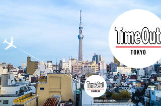 Time Out Bangkok and Time Out Tokyo logos
