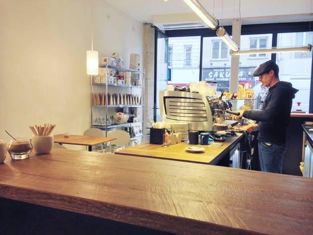 Coffee shop café Brûlerie Cuillier