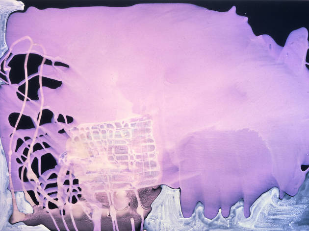 Sigmar Polke: Pour Paintings on Paper