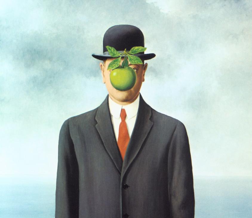'Le Fils de l'Homme' de René Magritte