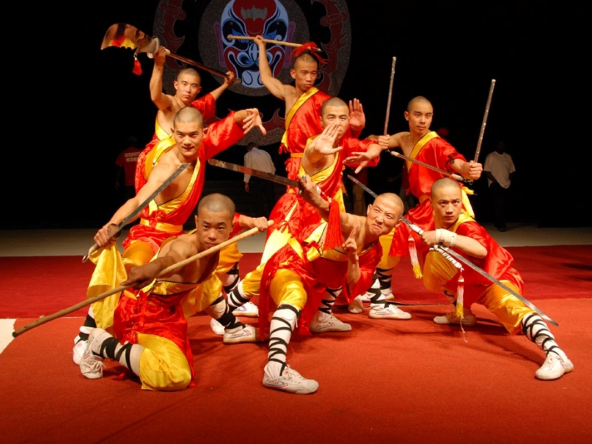 The 'Shaolin Warriors'