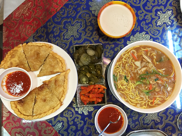Tibetan dishes, Potala Restaurant