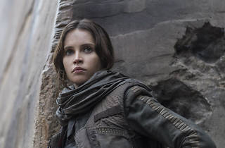 Felicity Jones en Rogue One: Una historia de Star Wars