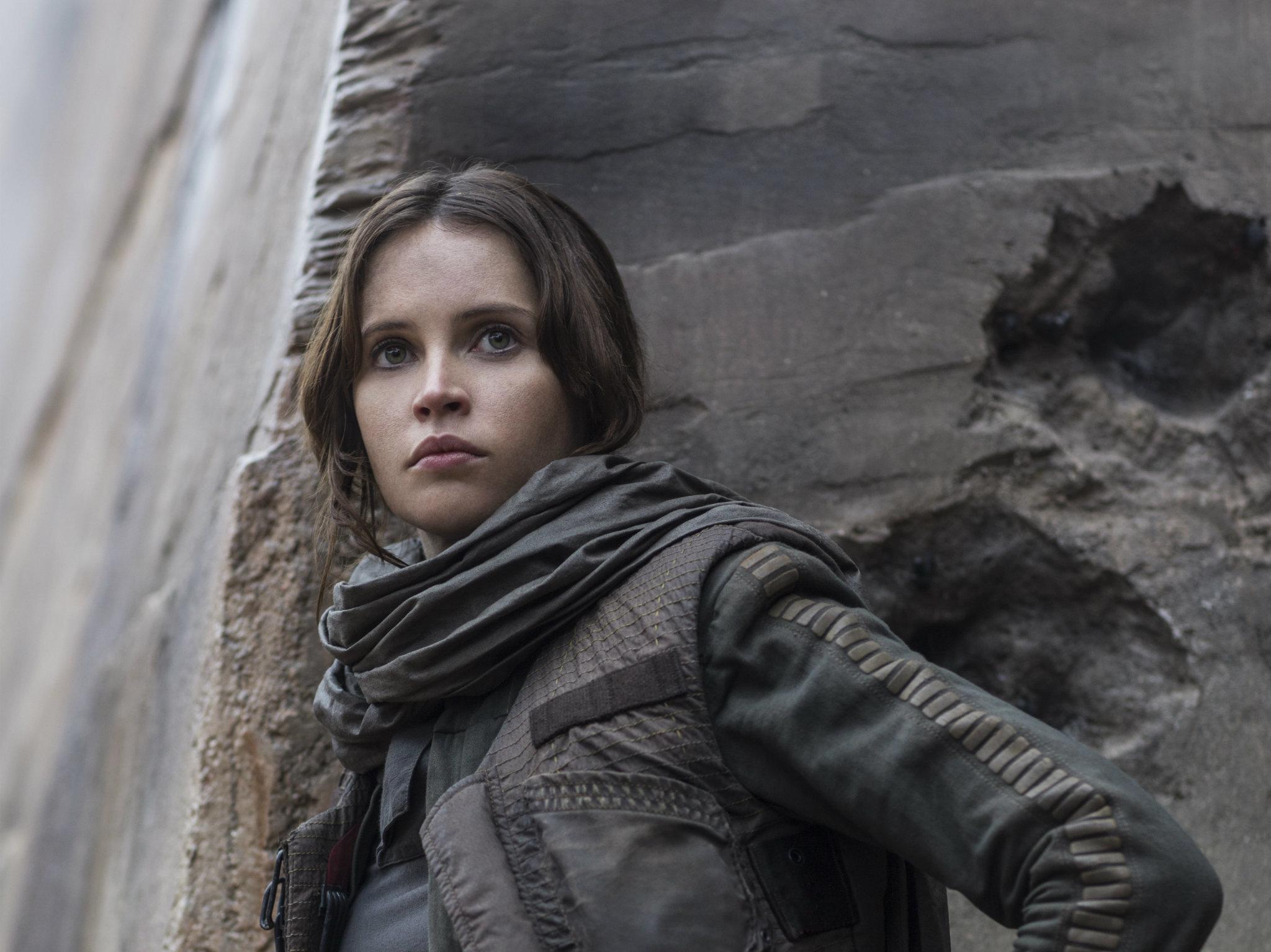 Felicity Jones en Rogue One: Una historia de Star Wars