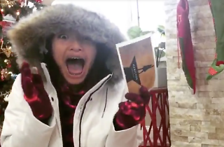 Watch people freak out after getting Hamilton tickets for Christmas