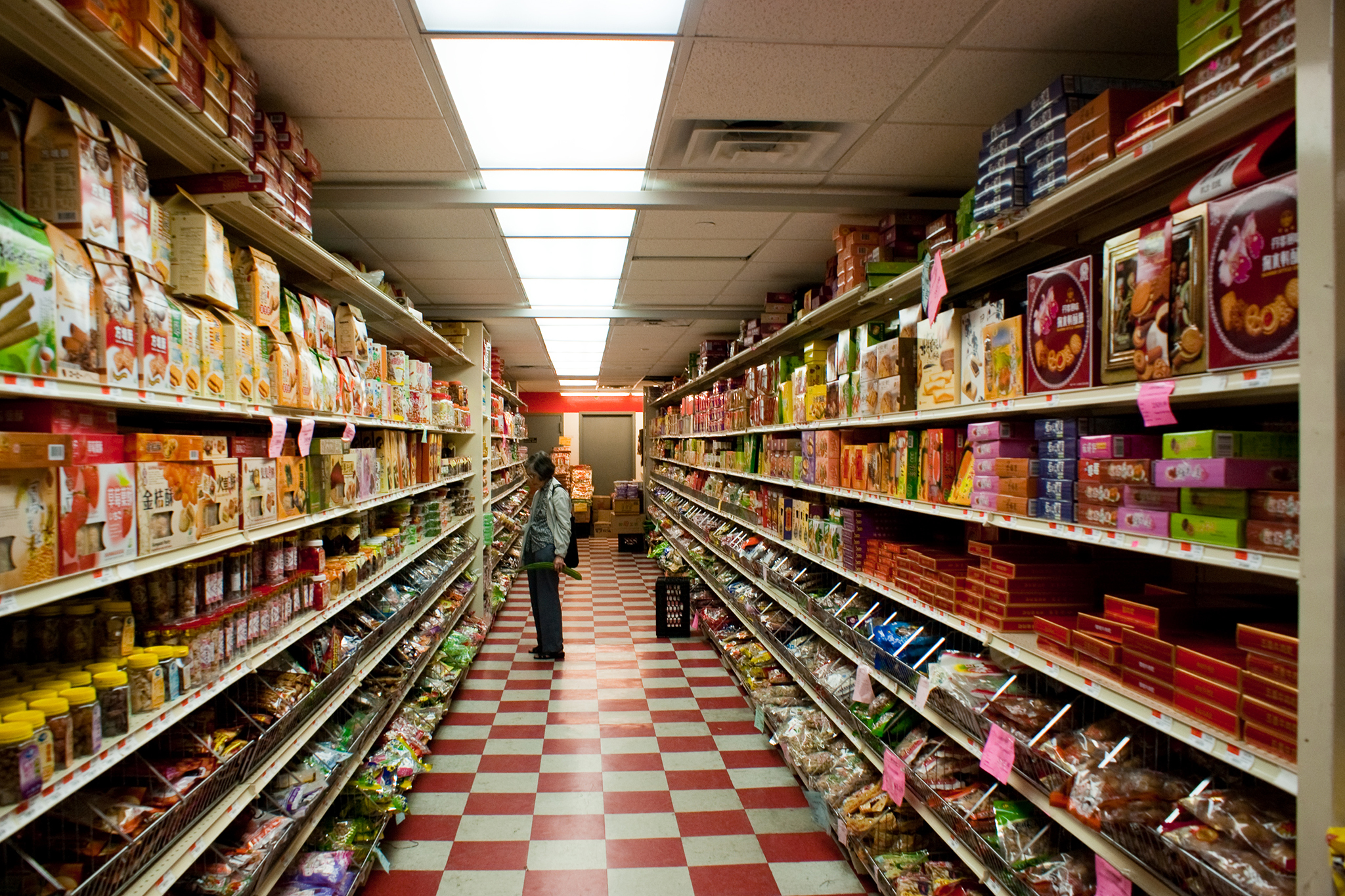 Shop for some Asian cuisine at Hong Kong Supermarket