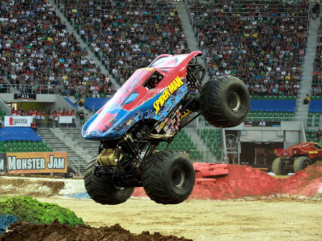 Monster Jam at the Prudential Center!