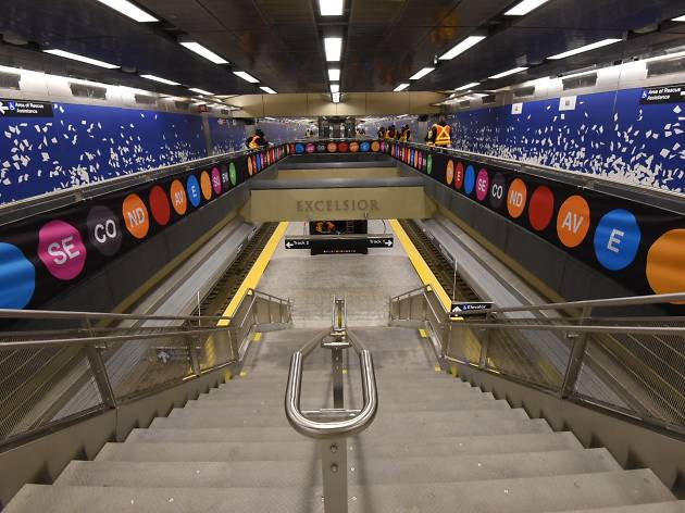 Here's how to ride the very first Second Avenue subway train on New Year's Day