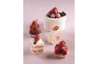 メリッサ「あまおうフェア」ケーキ