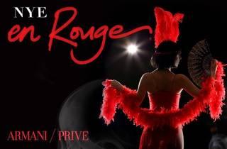 NYE en Rouge at Armani/Privé