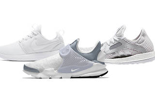 white sneakers nike adidas