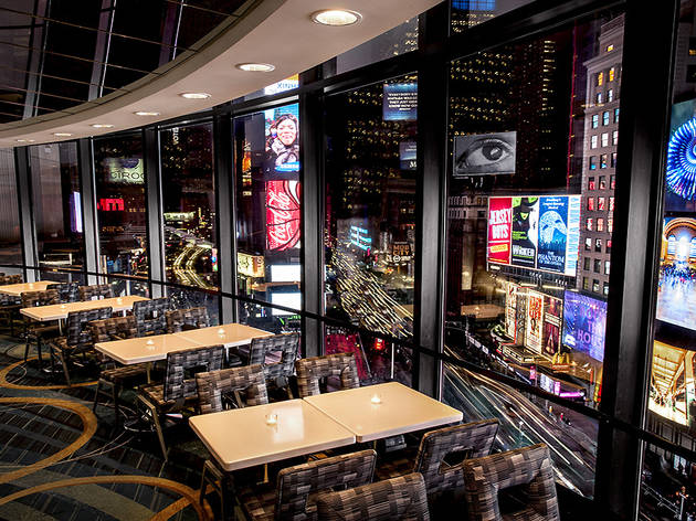 Broadway Lounge At The New York Marriott Marquis Bars In