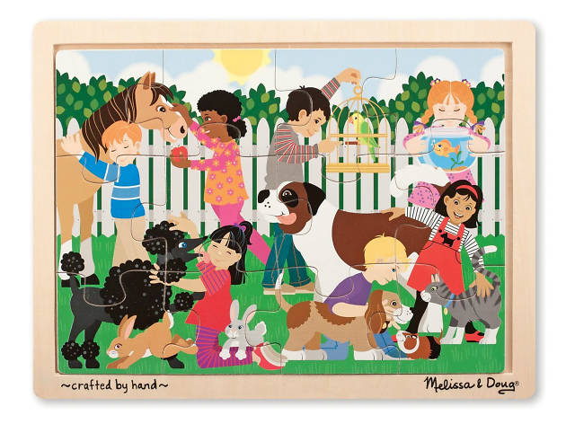 Best Friends Wooden Jigsaw Puzzle