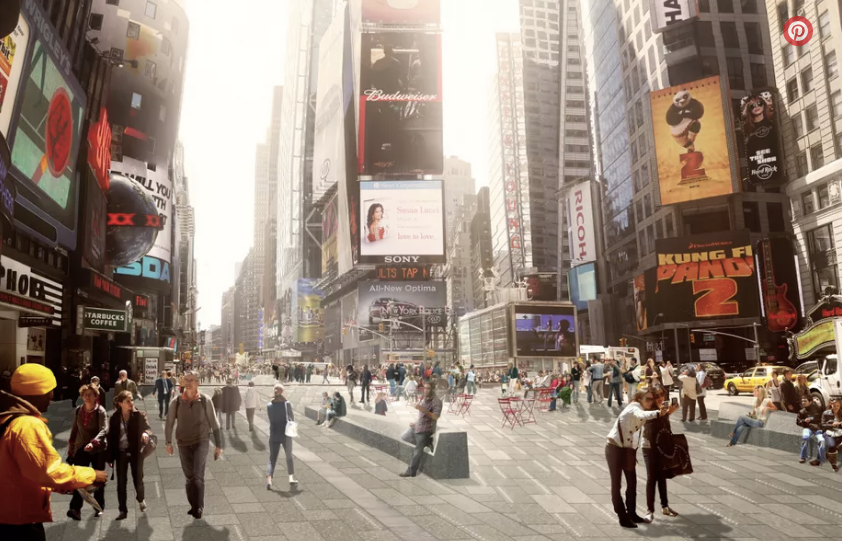 Times Square is finally revamped and ready for New Year's Eve