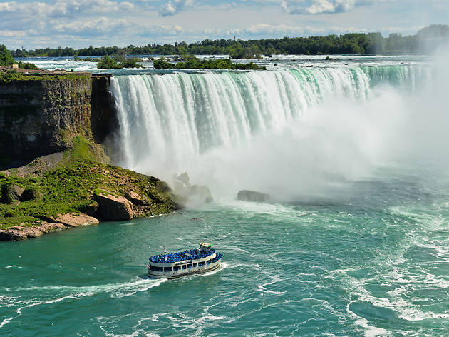 Niagara Falls in New York