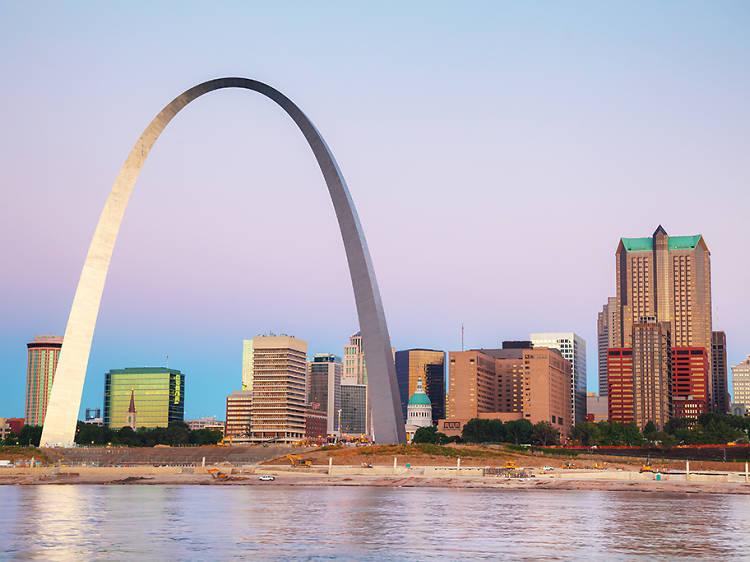 Gateway Arch in St. Louis, MO