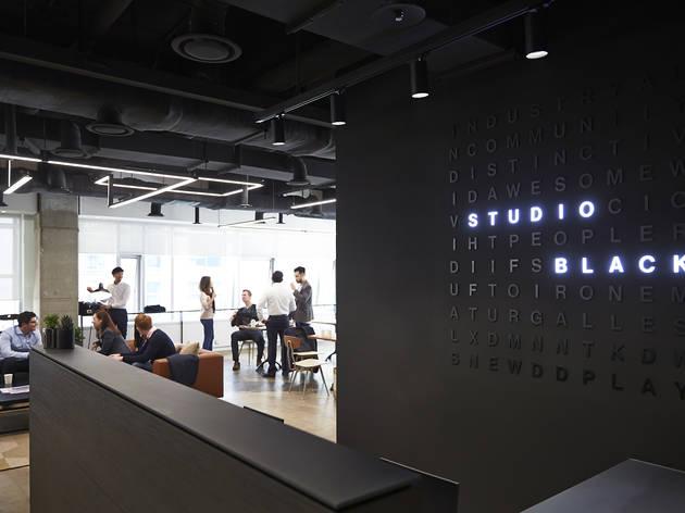 A top-notch co-working space, Studio Black