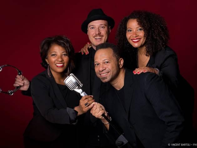 New Orleans Gospel Quartet & Shakin'all