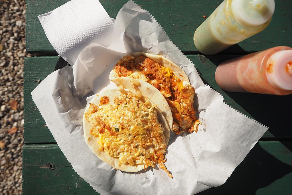 Chorizo and egg at El Primo