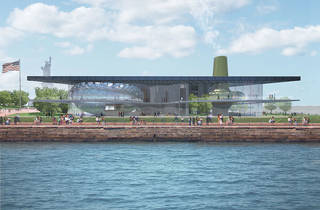 See renderings of the Liberty Island museum that might have been