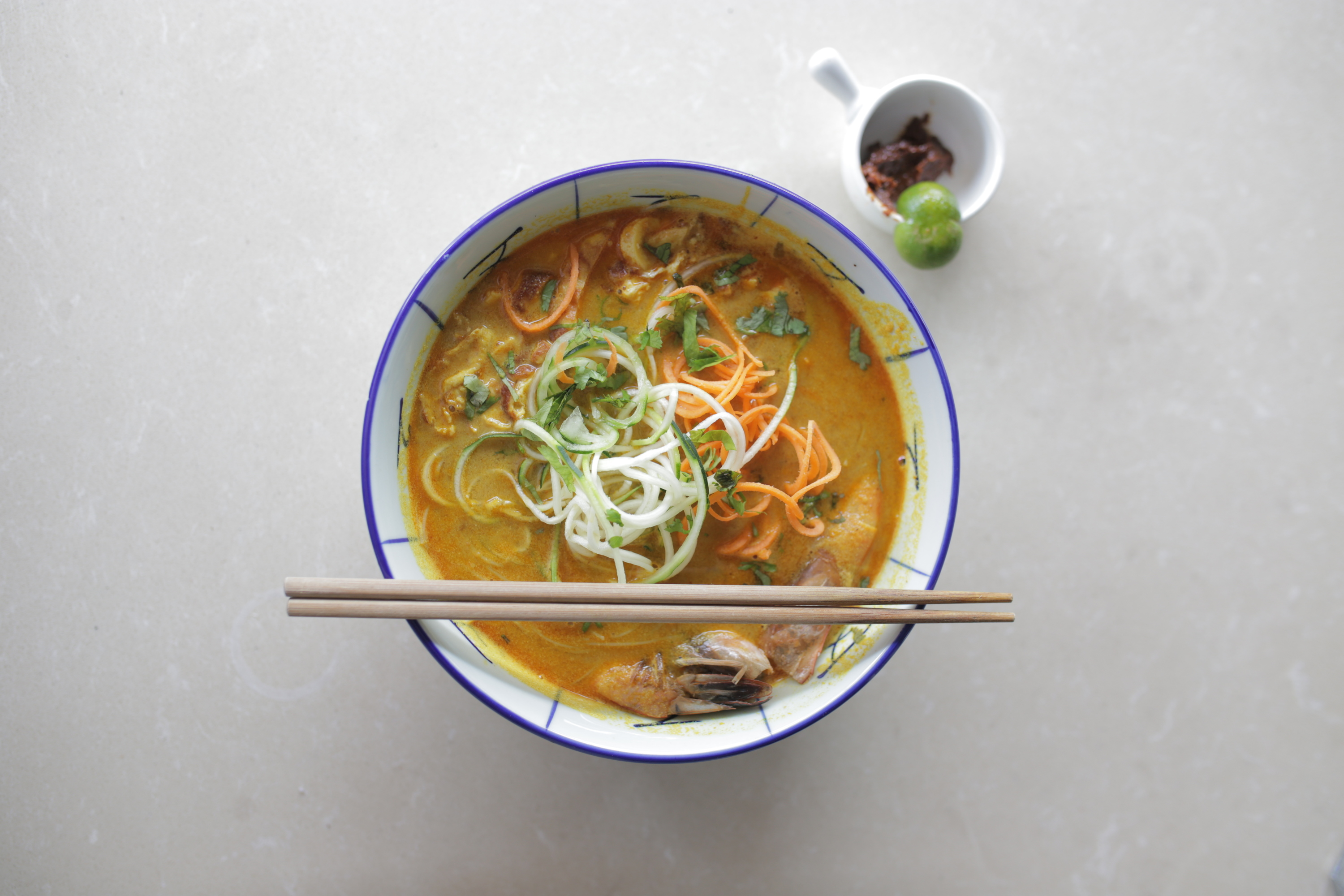 Borneo laksa at Ashley's by Living Food