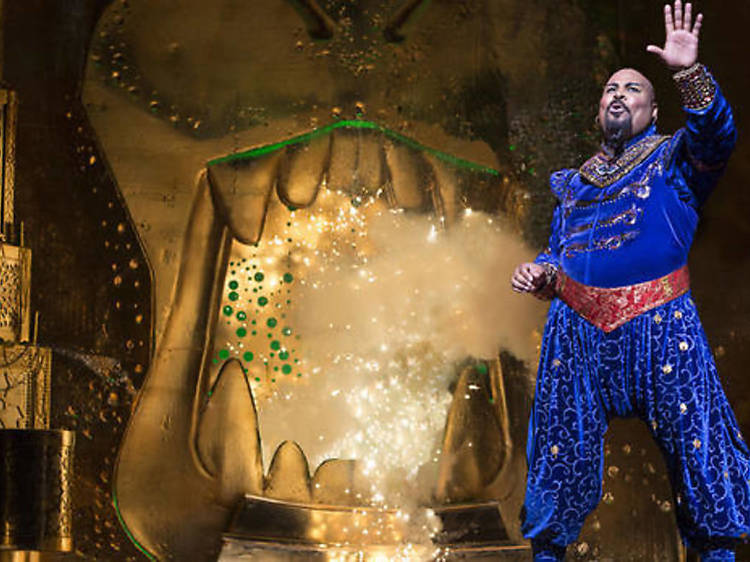 Broadway production of 'Aladdin' makes its touring debut