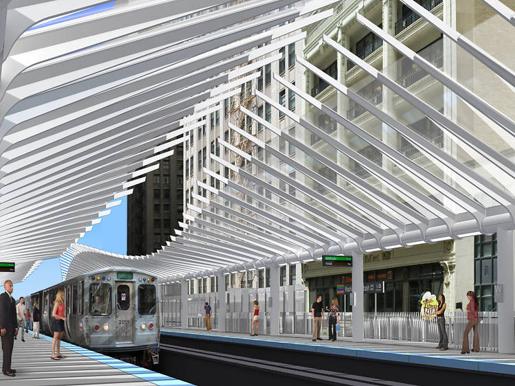 CTA will complete two major El station projects