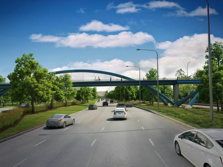 41st Street Pedestrian Bridge will give Bronzeville lakefront access