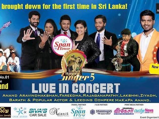 'Super Singer' Live in Concert