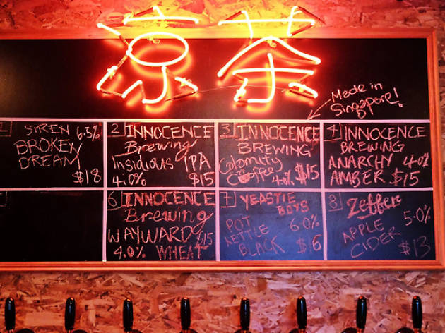 The best craft beer bars in Singapore