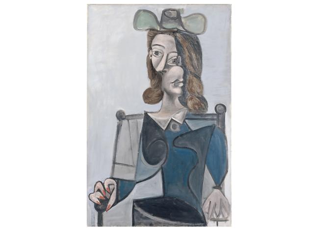 Bust de dona amb barret. Pablo Picasso