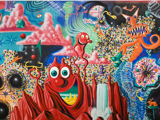 Kenny Scharf, When the Worlds Collide