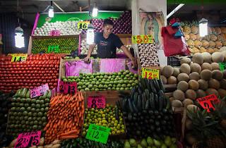 Mercados con comida fresca