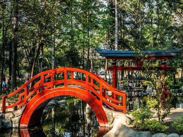 Parque masayoshi ohira for Para desarrollar un parque ajardinado