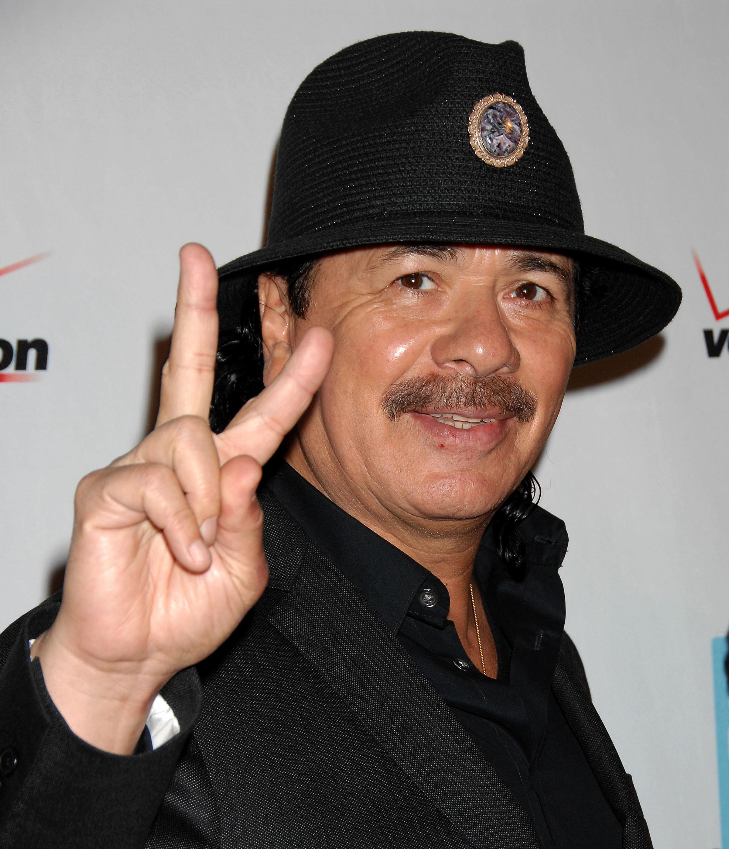 Santana live at House of Blues