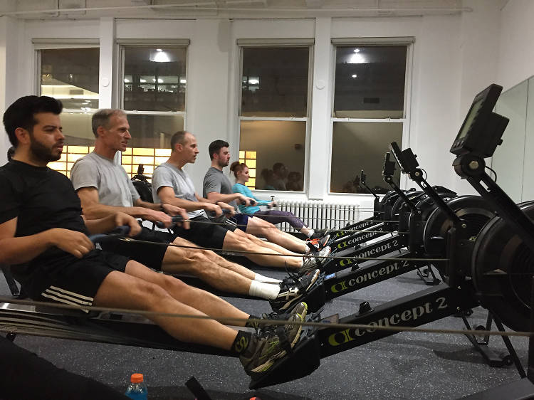 Enginerm rowing class at EngineRM