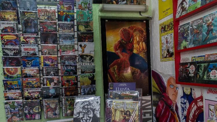 The Planet Comics