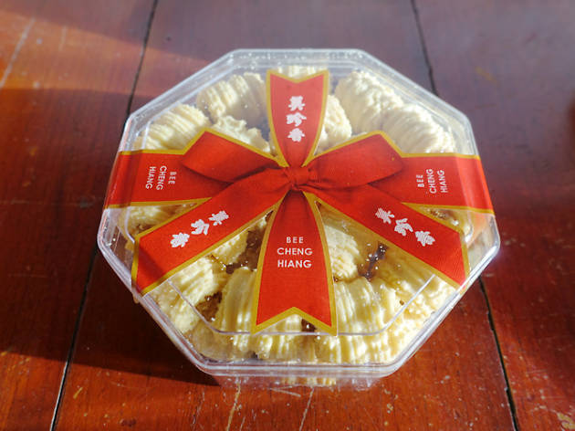 Pineapple tarts, Bee Cheng Hiang