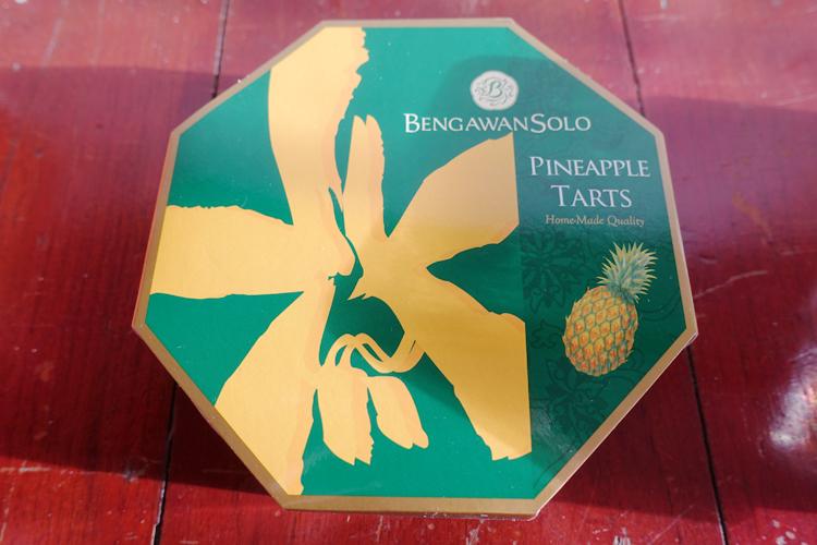 Pineapple tarts, Bengawan Solo