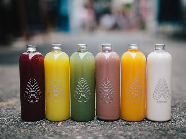 Juice bars in Singapore